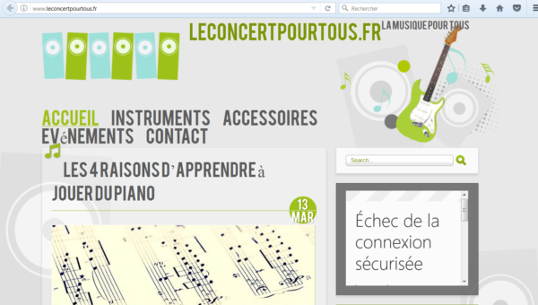 Les informations musicales