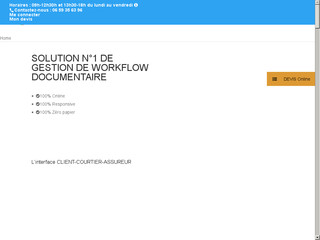 Gestion online workflow documentaire