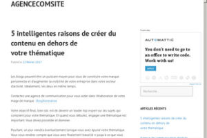 Agencecomsite