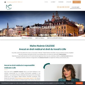 Avocate au barreau de Lille